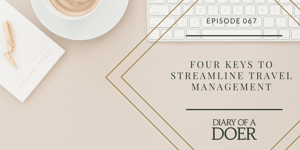 Episode 67: Four Keys to Streamline Travel Management