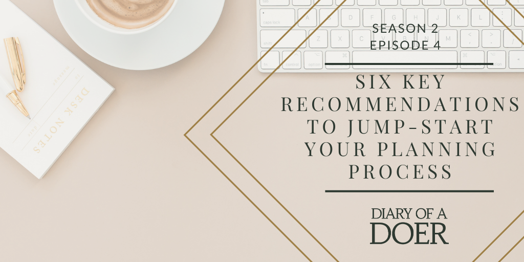6 key recommendations to jump-start your planning process